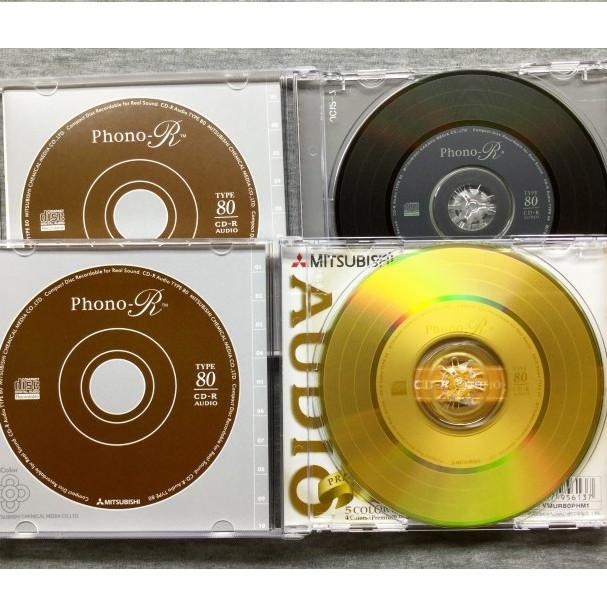 Đĩa CD-R Phono Mitsubishi - Hàng chính hãng (Hộp 5C)