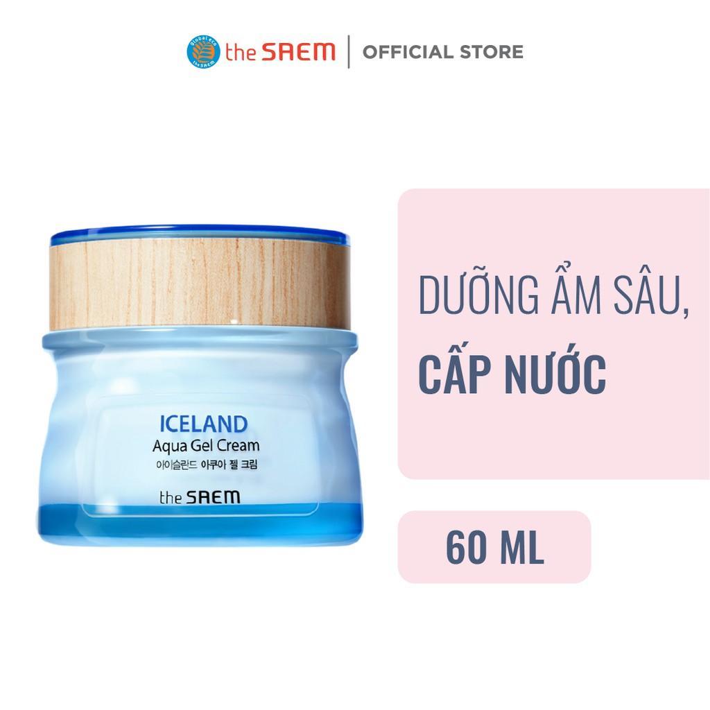 Kem Dưỡng Ẩm Sâu Cấp Nước the SAEM Iceland Aqua Gel Cream 60ml