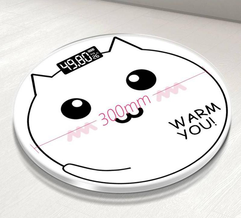 Cân sức khỏe điện tử Mèo con - Màn LCD - Pin AAA