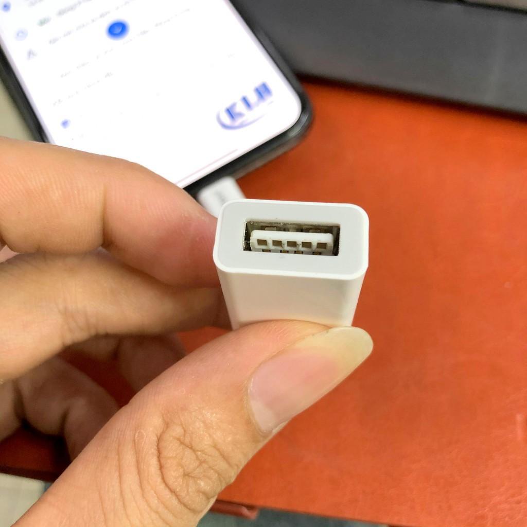 Đầu đọc thẻ nhớ, Usb, bàn phím cho Iphone, Ipad Earldom OT48 - Hàng chính hãng