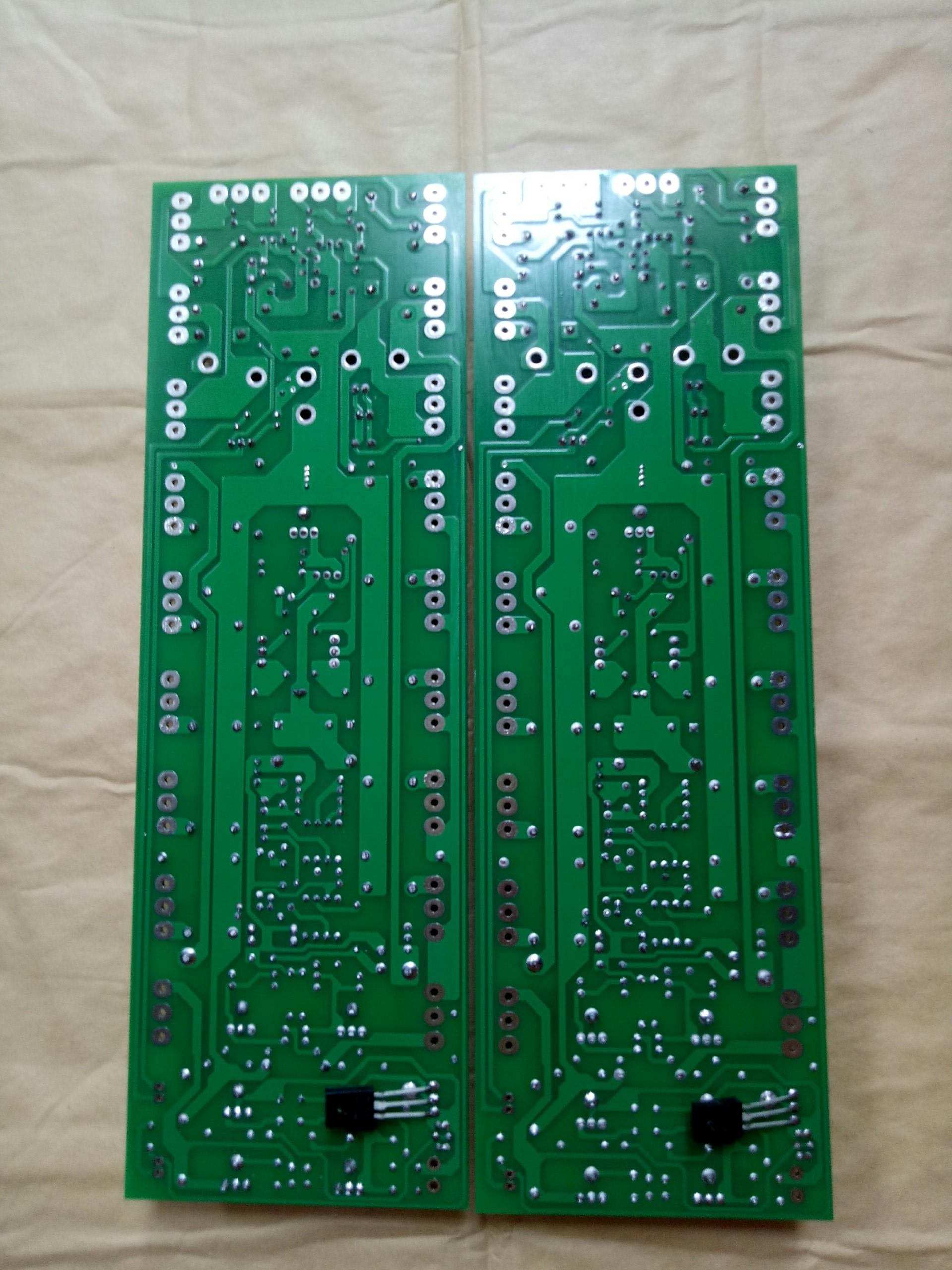 Mạch công suất cục đẩy LA800 1300W 1 kênh có bù áp 1 cặp