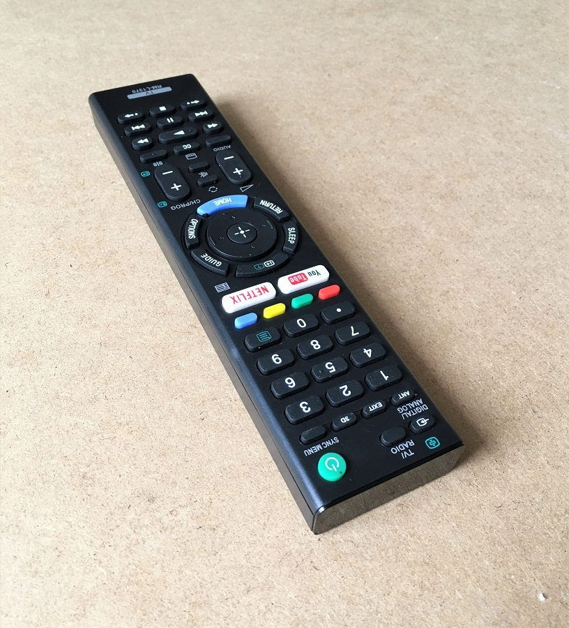 Remote Điều Khiển Dành Cho Smart TV, Internet TV SONY RM-L1370 Grade A+ (Kèm Pin AAA Maxell)