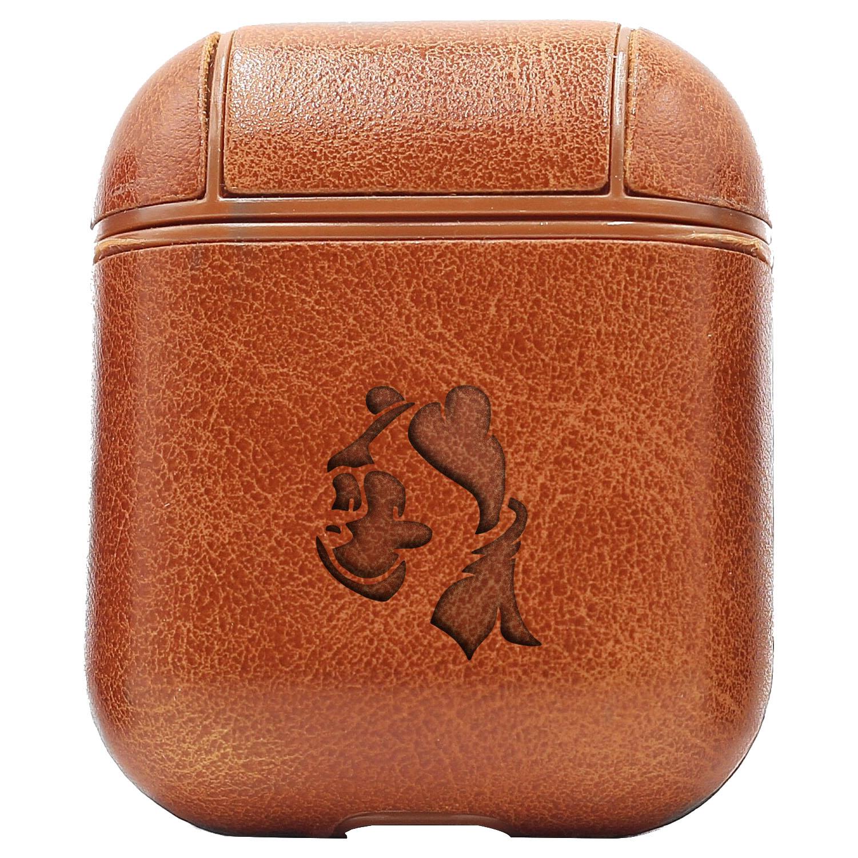 Bao Da Cover Apple Airpods 1 / 2 Premium  Khắc Hình Disney Gấu Pooh