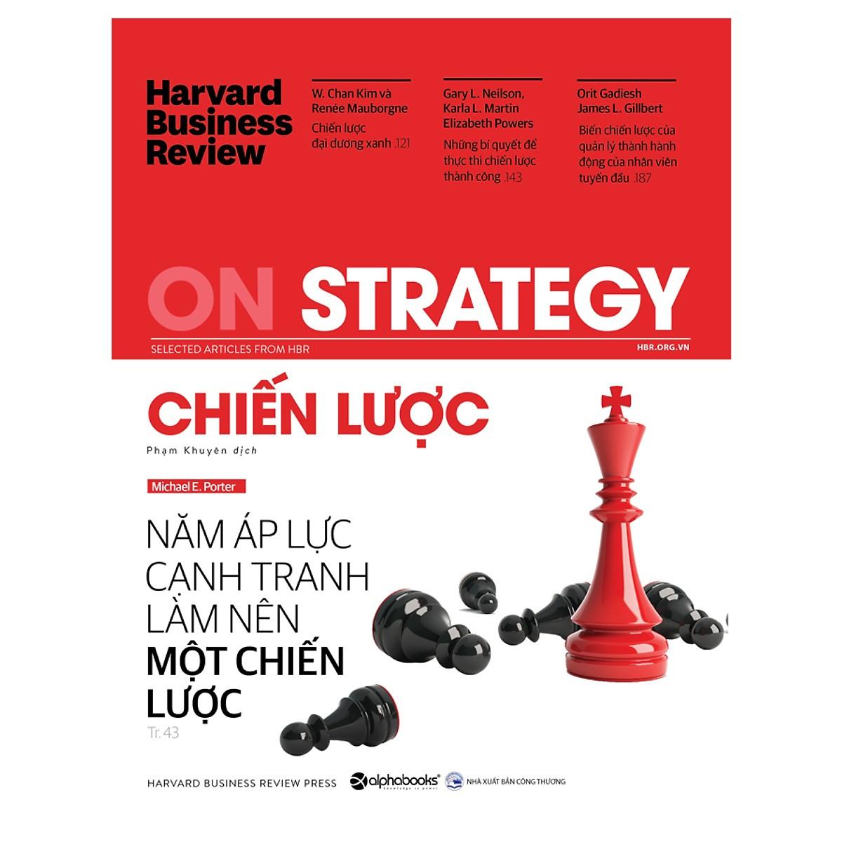 HBR On Strategy - Chiến Lược (Quà Tặng Card đánh dấu sách đặc biệt)