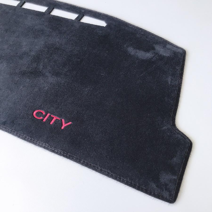 Thảm nhung taplo chống nắng dành cho Honda City cao cấp