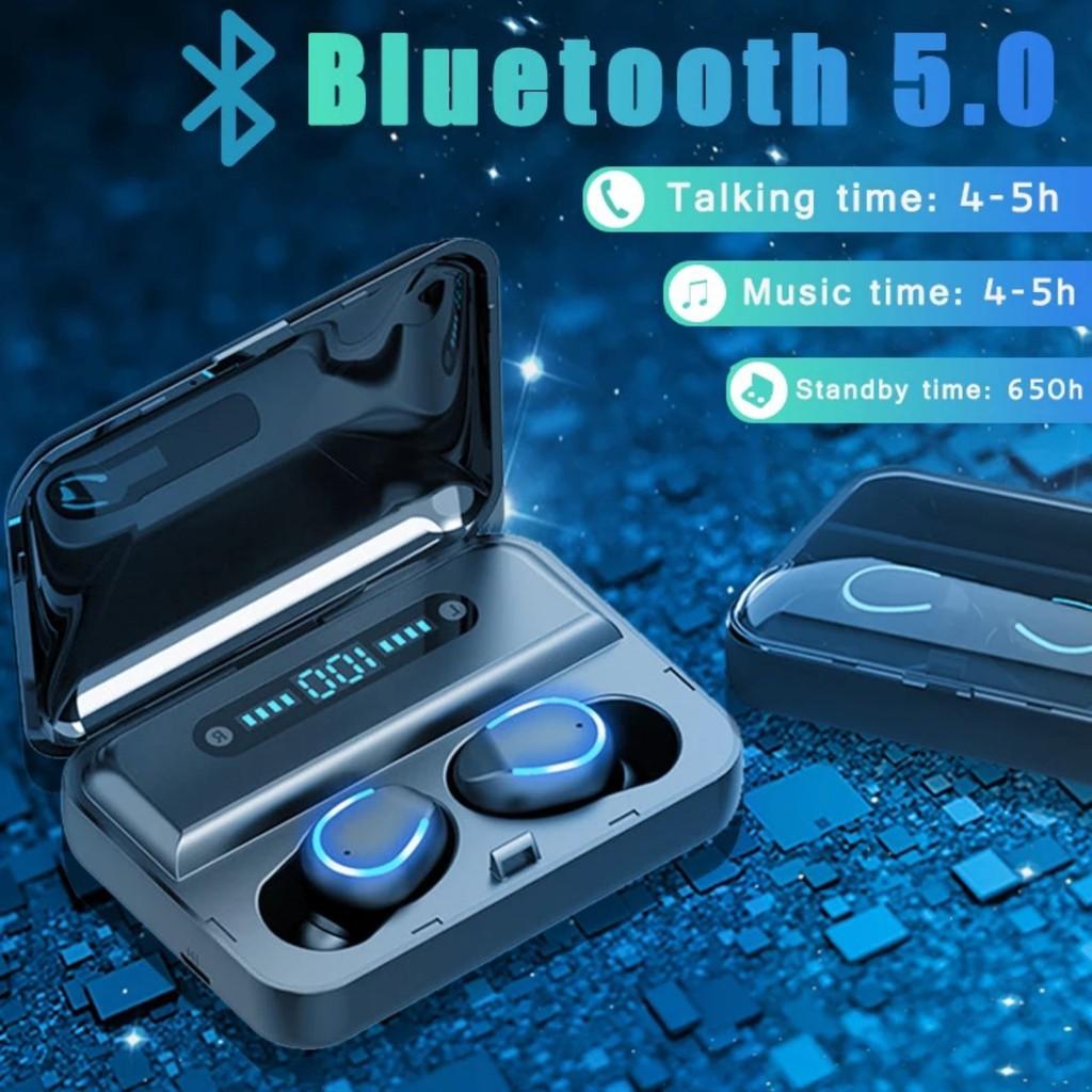 Tai nghe bluetooth Lanith F9 Pro 5.0 - Tai nghe nhét tai kết nối không dây  phiên