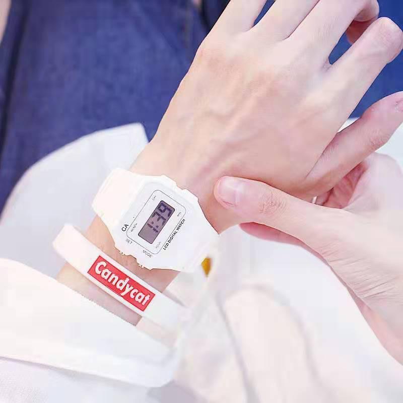 Đồng hồ thời trang nam nữ Candycat mẫu chạy điện tử-Cam kết như quảng cáo