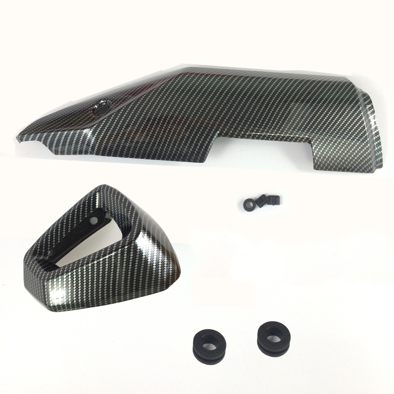Bộ sản phẩm chụp ốp pô cho xe Winner X carbon
