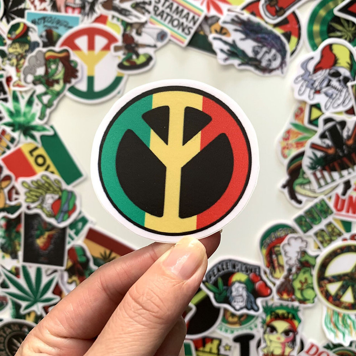 Set 60 Sticker Rasta
