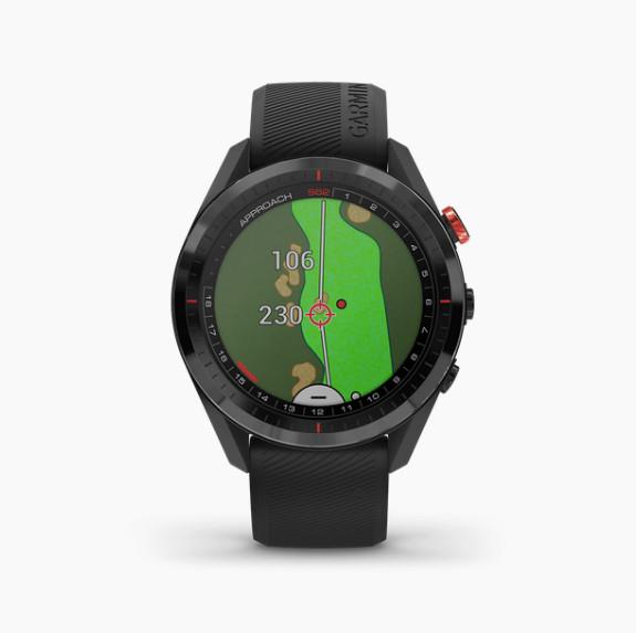 Đồng hồ thông minh theo dõi vận động theo dõi sức khỏe Garmin Approach S62 w/CT10 Bundle, Golf GPS, Black, SEA_010-02200-52 - Hàng Chính Hãng