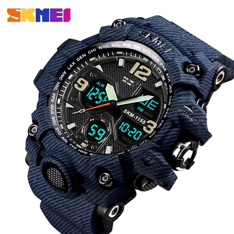 Đồng hồ đeo tay Skmei - 1155BDMBU