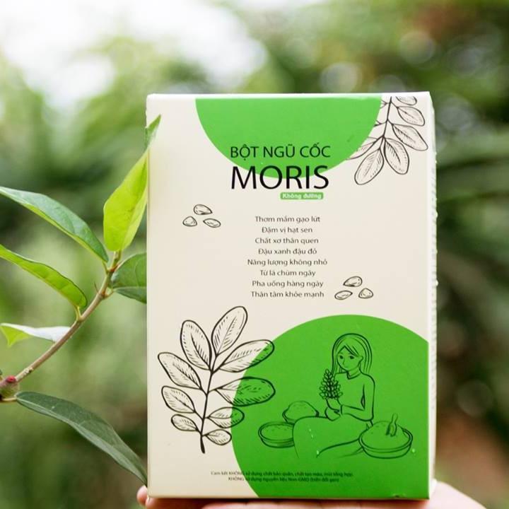 Bột ngũ cốc chùm ngây Moris - Không đường
