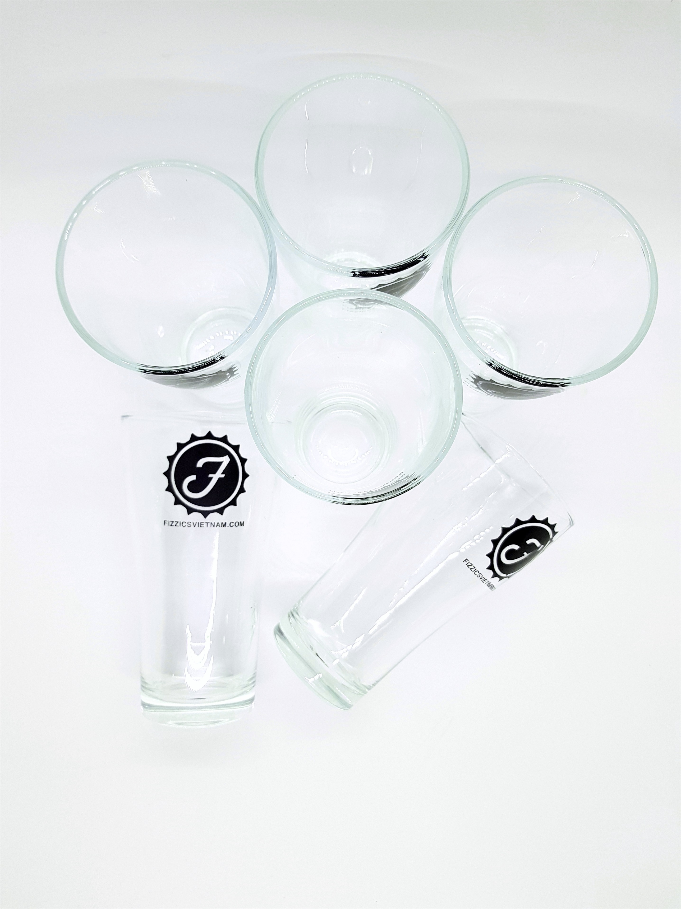 Bộ cốc uống bia cao cấp Luckyglass - Made in Thailand.