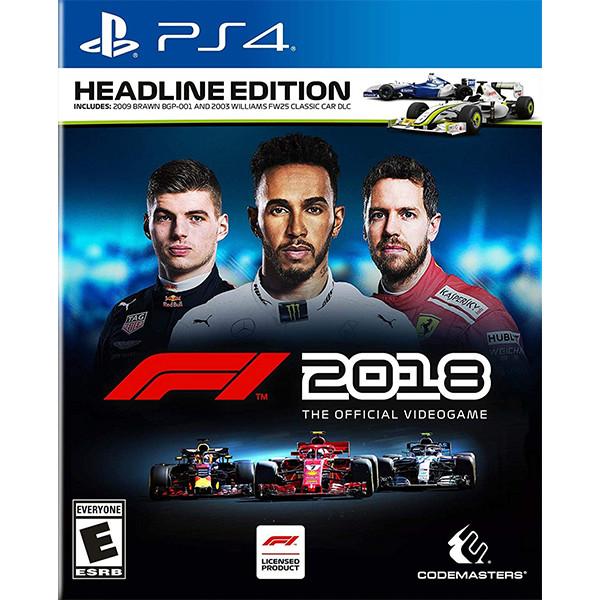 Đĩa game F1 2018 Headline Edition cho PS4 - Hàng Nhập Khẩu
