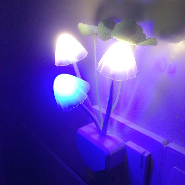 Đèn ngủ hình nấm công nghệ đèn led