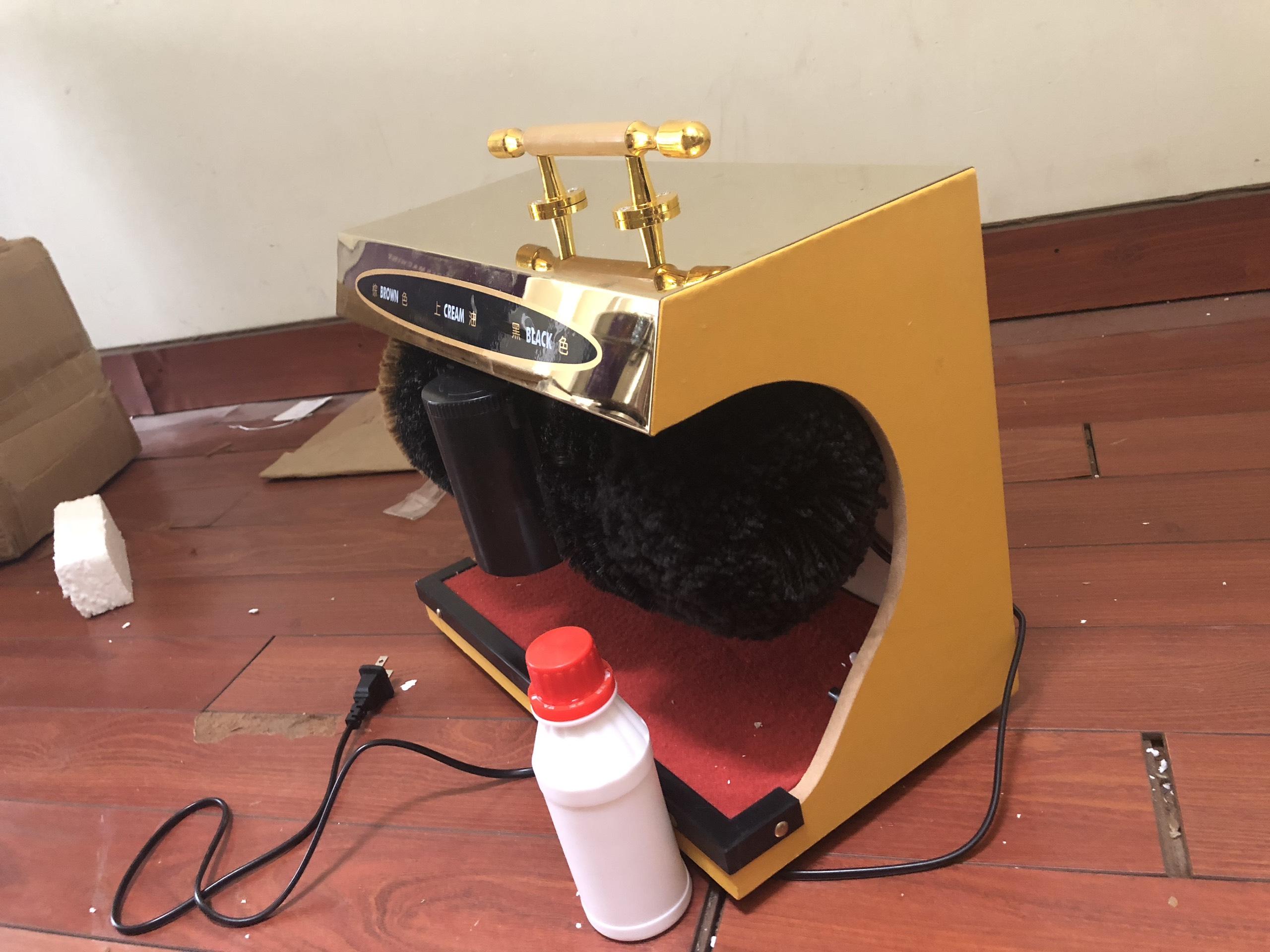 Máy đánh giầy shiny SHN-G4 chính hãng.