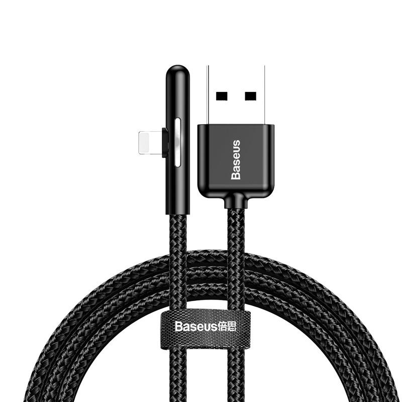 Cáp sạc và truyền dữ liệu Baseus Iridescent Lamp Mobile Game cho iPhone/ iPad (2.4A) - Hàng chính hãng