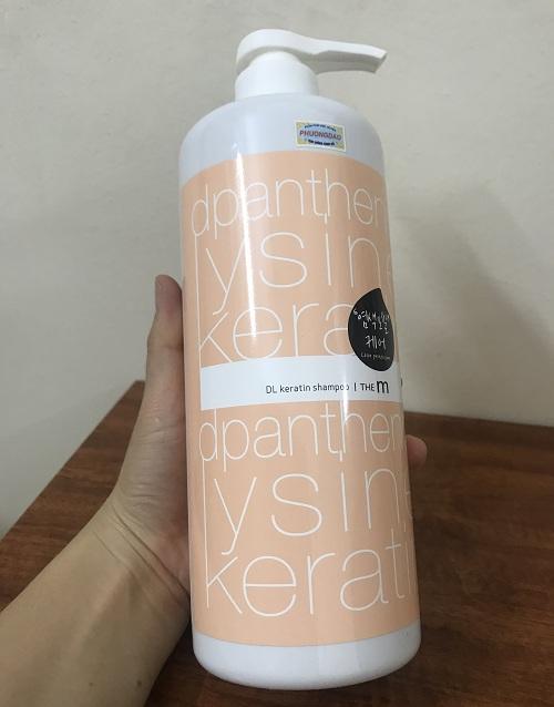 Dầu gội bảo vệ màu tóc nhuộm (Hàn Quốc) Mugens the m DL keratin shampoo 1000ml