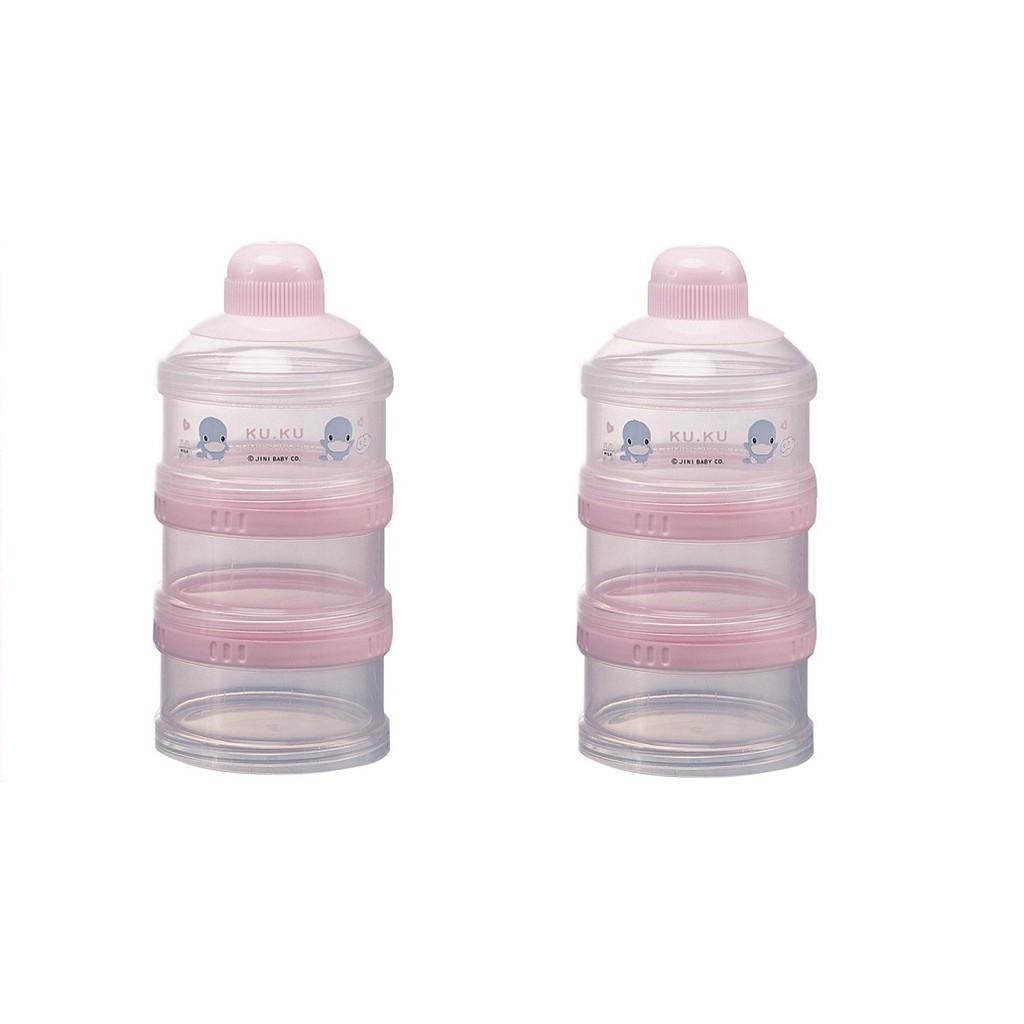 Hộp chia sữa 3 ngăn KUKU 5318