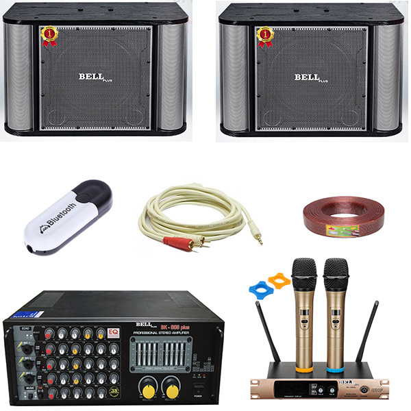 Bộ dàn karaoke gia đình SA - 9600 BellPlus (hàng chính hãng)