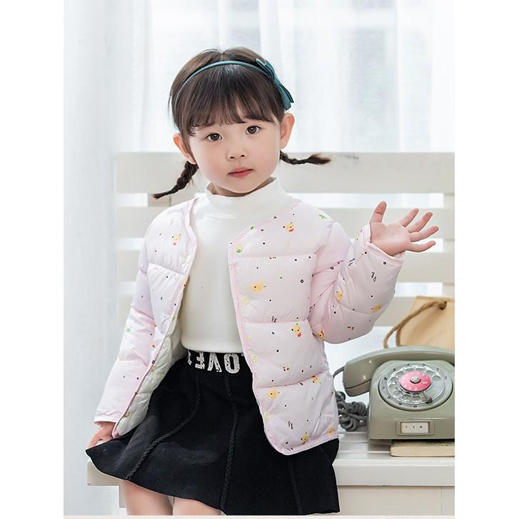 Áo phao bé ️️ Áo Phao Lông Vũ Xuất Hàn Cho Bé Từ 1-5 Tuổi