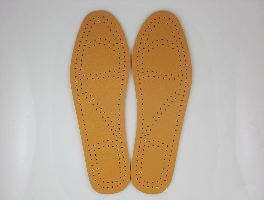 Lót giày da nam da dê đục lỗ thoáng khí hút ẩm khử mùi