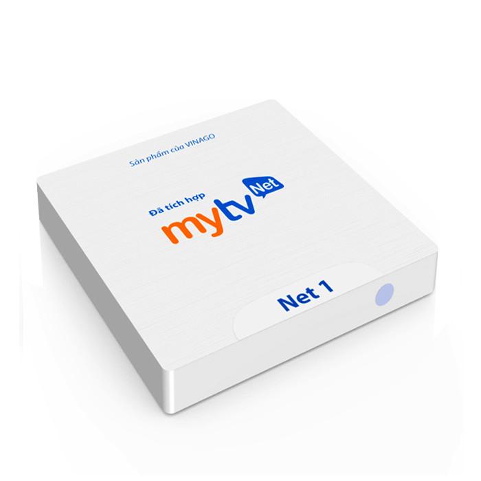 Combo Android tivi box MyTVNet Net 1 ( Ram 2G, Rom 16 G) + Điều khiển giọng nói với KM950V Hàng Chính Hãng