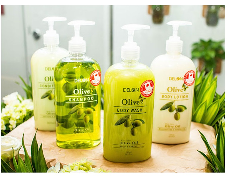 Sữa dưỡng thể DELON chiết xuất từ tinh dầu Olive dung tích 725ml - Lotion Olive DELON 725m