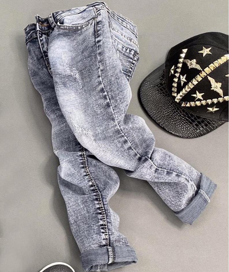 Quần jean dài bé trai siêu cưng từ 1 - 8 tuổi