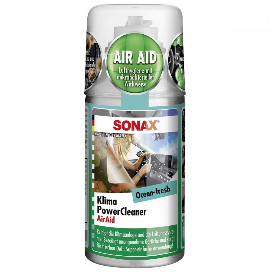 Chai Khử Mùi Và Làm Sạch Dàn Lạnh Dạng Hơi Hương Đại Dương Sonax Car A/C cleaner Ocean-fresh 323600 (100ml)
