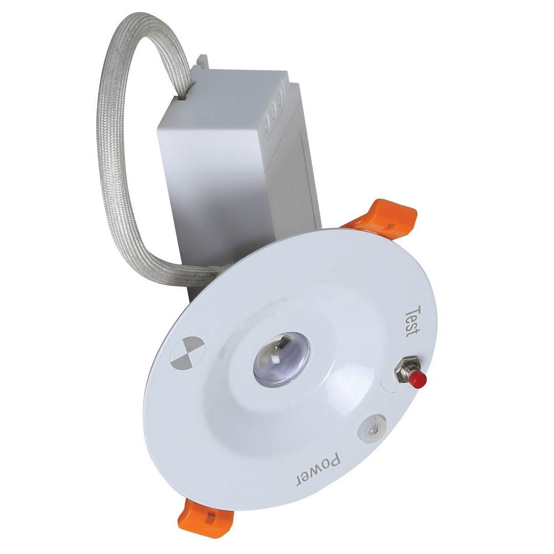 Đèn LED âm trần khẩn cấp 5W Rạng Đông AT07L KC 90/5W