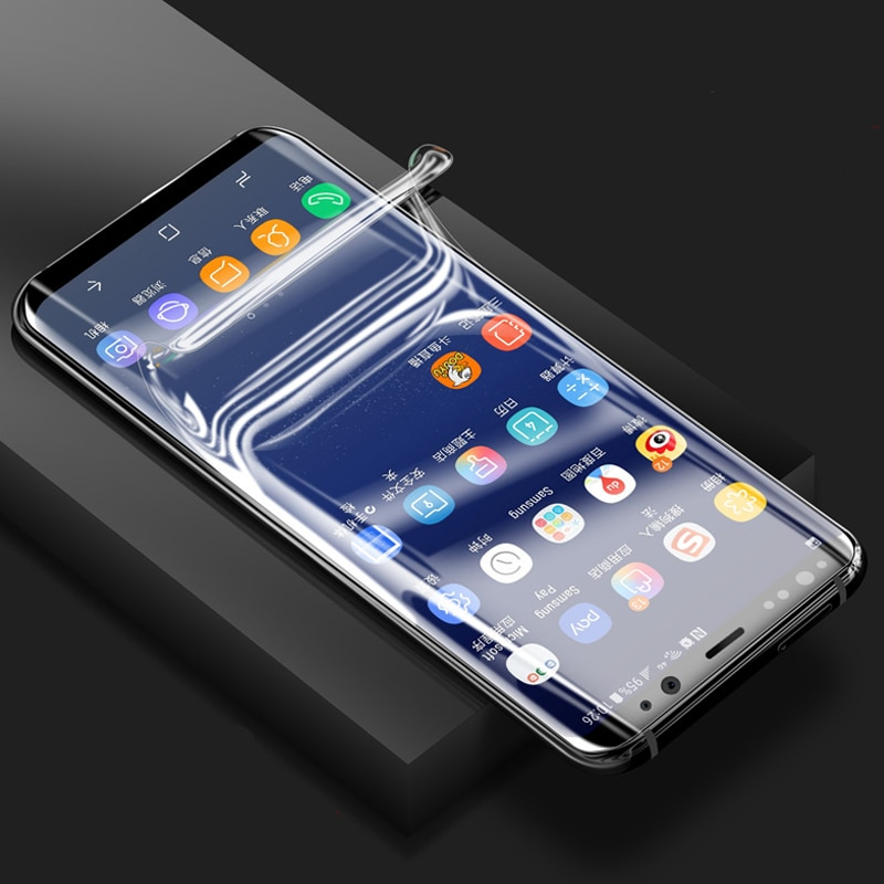 Miếng dán màn hình chống trầy cho Samsung Galaxy Note 8 hiệu Vmax (siêu mỏng 0.2mm, độ trong tuyệt đối, chống trầy xước chống bụi) - hàng chính hãng