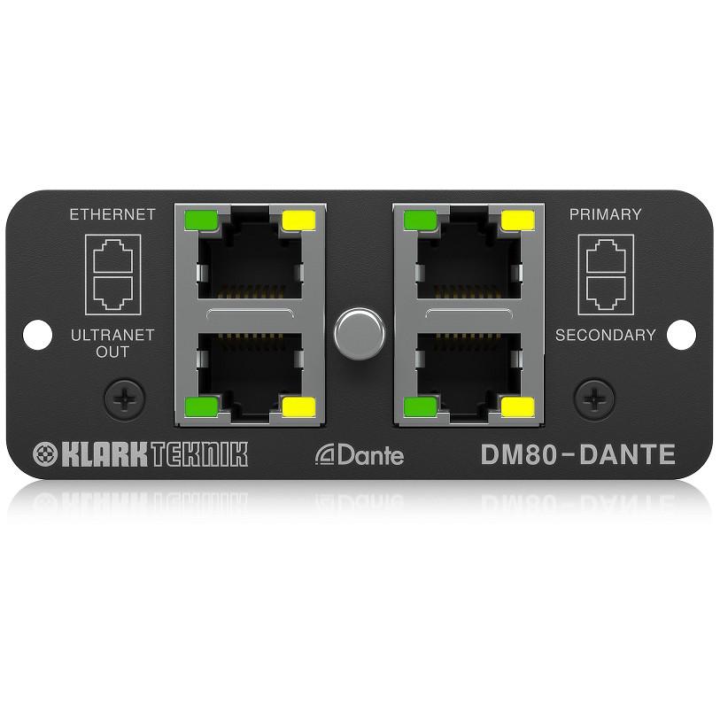 KLARK TEKNIK DM80-DANTE - Dante Expansion Module-Hàng Chính Hãng