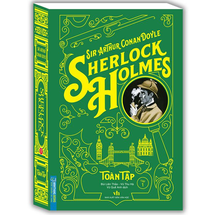 Sherlock Holmes Toàn Tập-Tập 1 (Bìa Mềm)(Tái Bản)