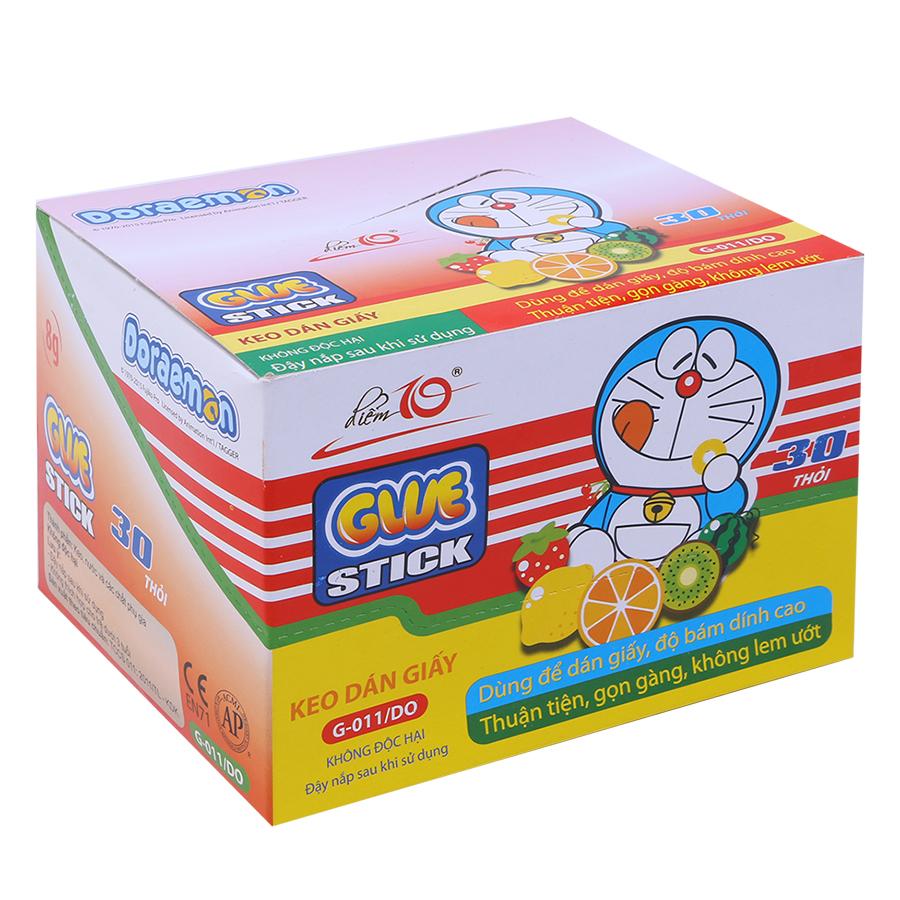 Hộp 30 Keo Khô Thiên Long G-011/DO