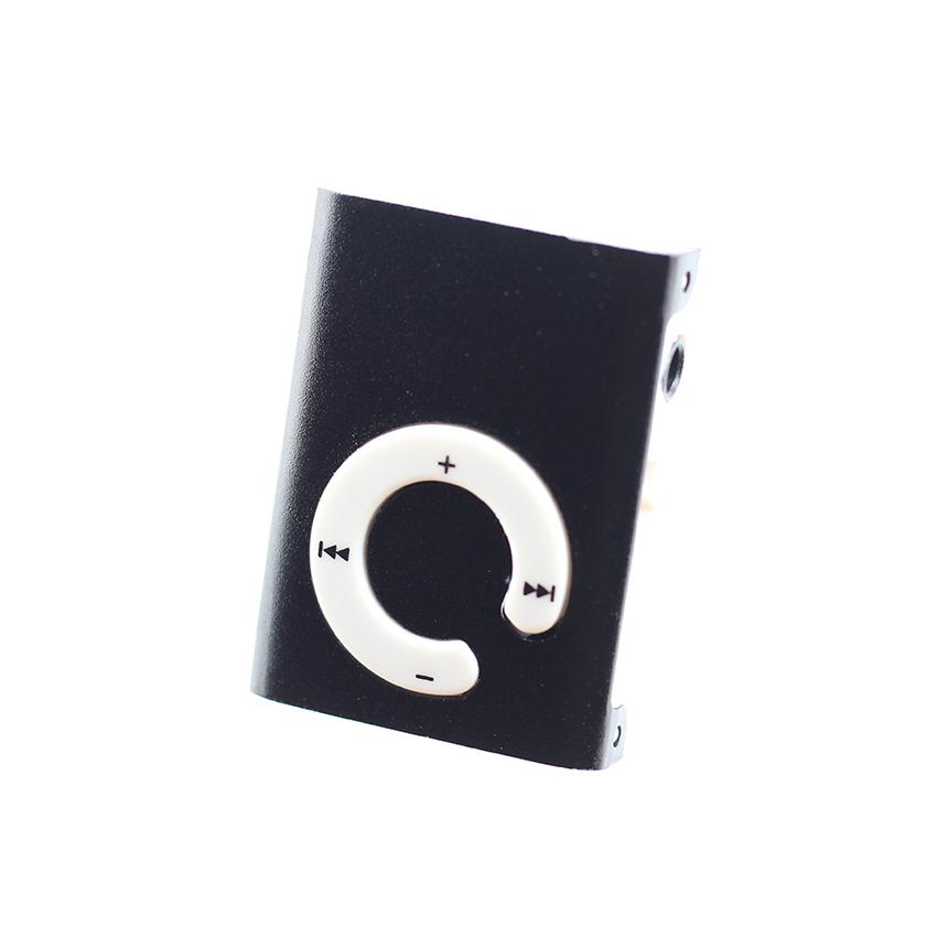 Máy nghe nhạc mp3 chữ C vỏ nhôm sang trọng, kẹp gắn quần áo tặng tai nghe và dây sạc
