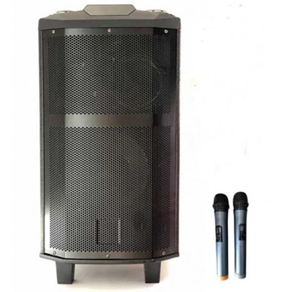 Loa kéo di động karaoke djk5 pin tốt kèm 2 micro 2 bass lớn