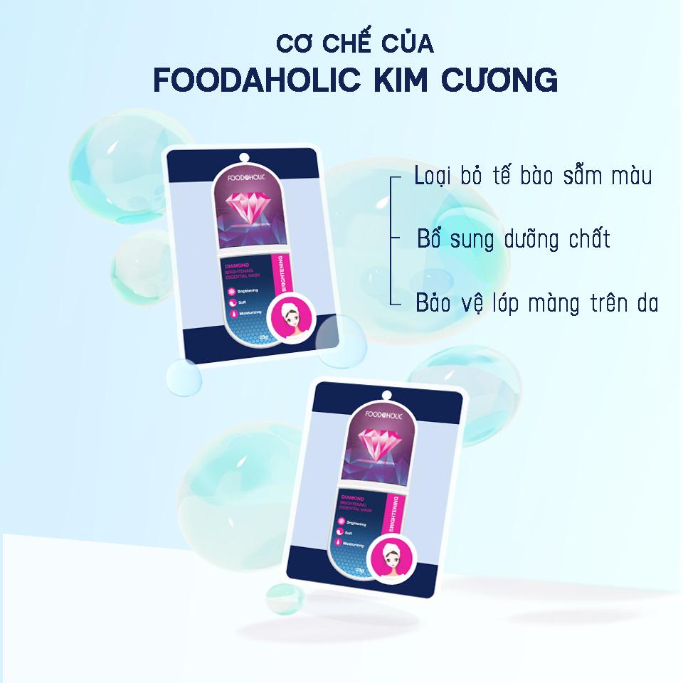 Mặt Nạ Kim Cương Dưỡng Sáng Da Foodaholic