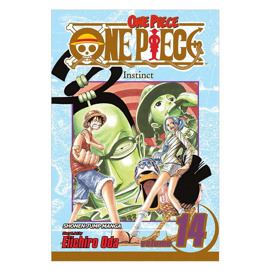 One Piece 14 - Tiếng Anh