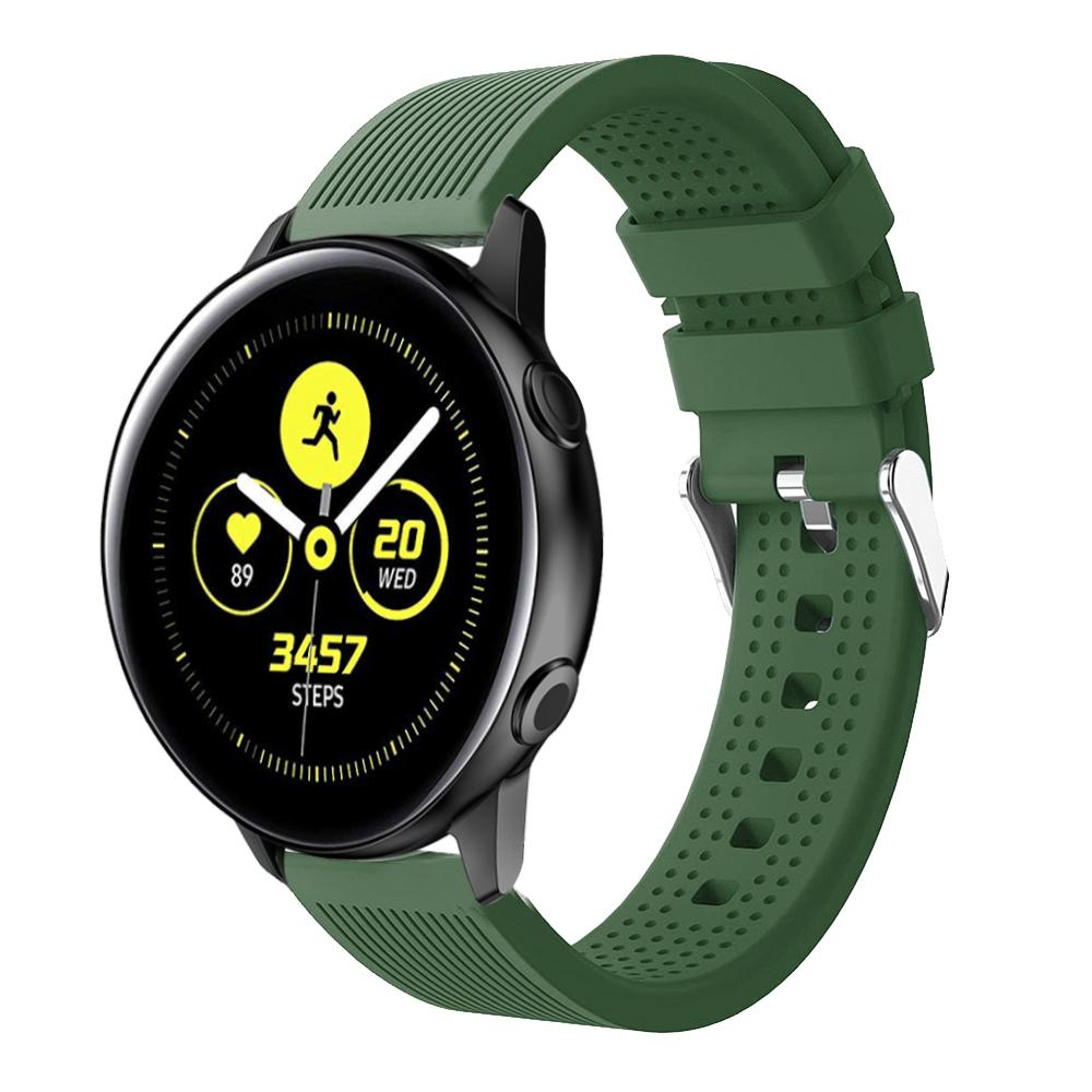 Dây Cao Su Colour 3 Size 20mm cho Galaxy Watch Active 1, Galaxy Watch Active 2, Galaxy Watch 42, Huawei Watch 2, Ticwatch, Amazfit, Garmin