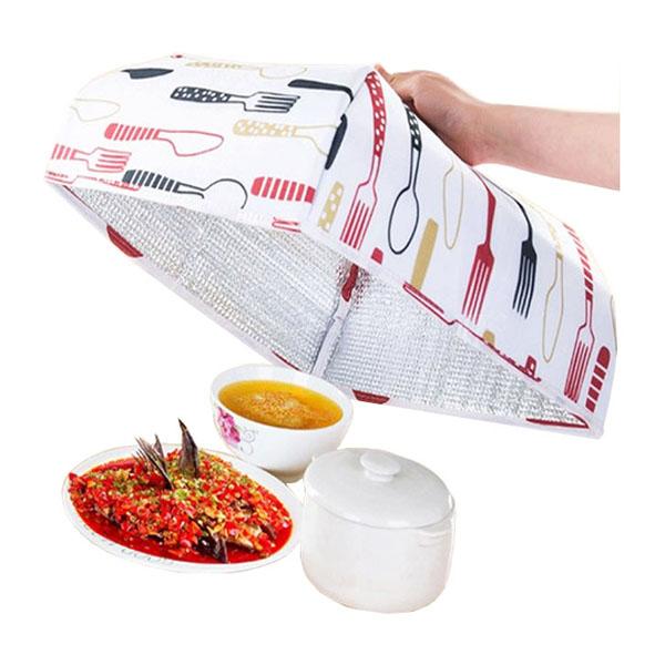 Lồng bàn đậy và giữ nhiệt thức ăn gấp gọn tiện dụng