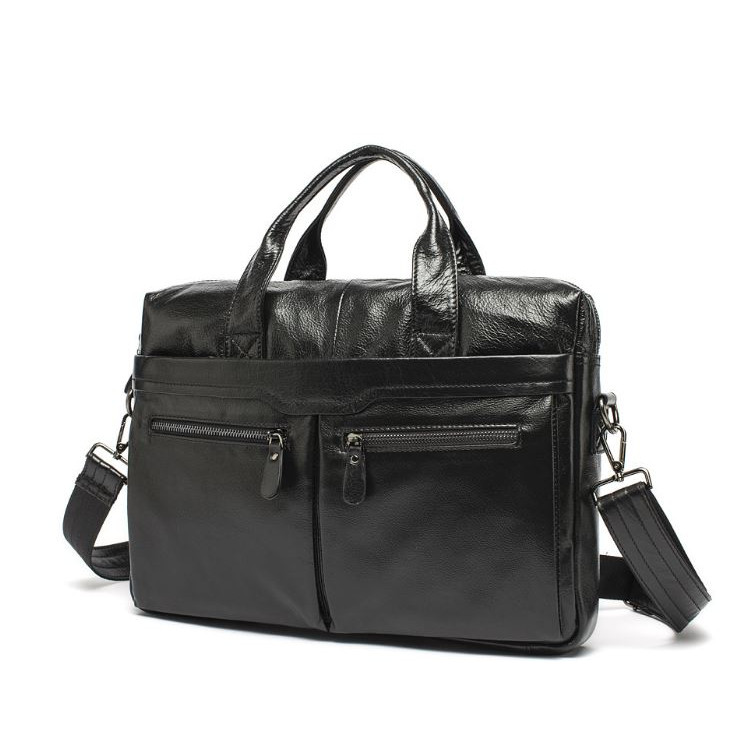 Túi xách da thật dành cho Laptop-Macbook 13-14inch -M258 (có quai đeo chéo)