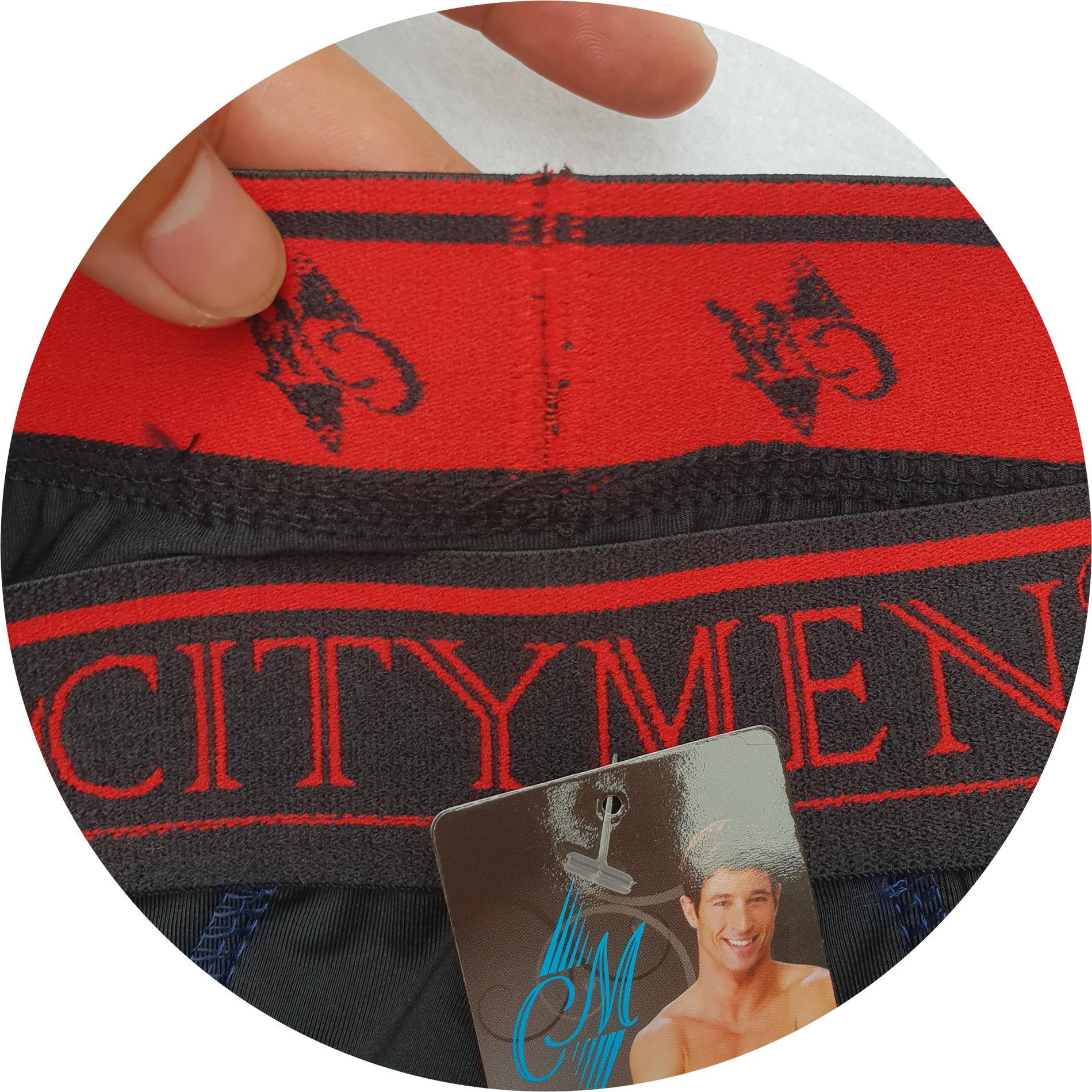 Hộp Quần lót nam cao cấp CITYMEN vải thun lạnh có màu XANH ĐEN, ĐEN, XÁM NHẠT, XÁM ĐẬM - (Giao Màu ngẫu nhiên)