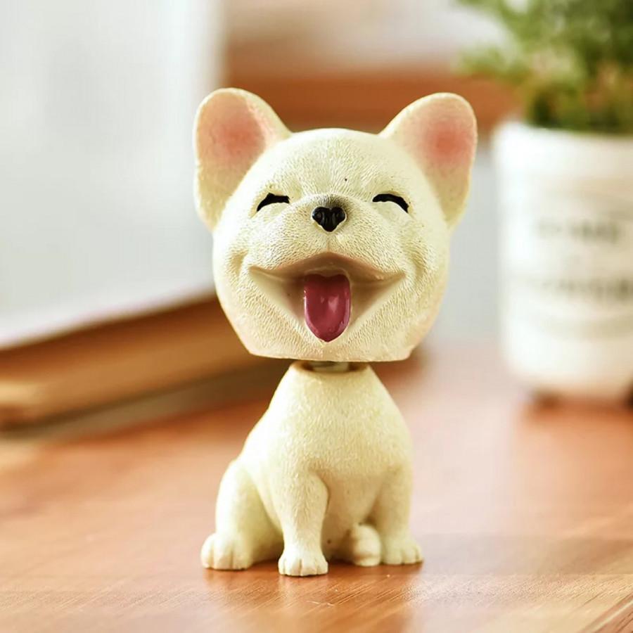 Tượng Chó Cute Lắc Đầu