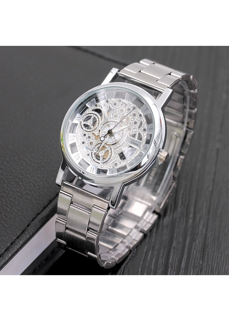 Đồng hồ cơ thời trang nam dây kim loại cao cấp doanh nhân lịch lãm ZO102