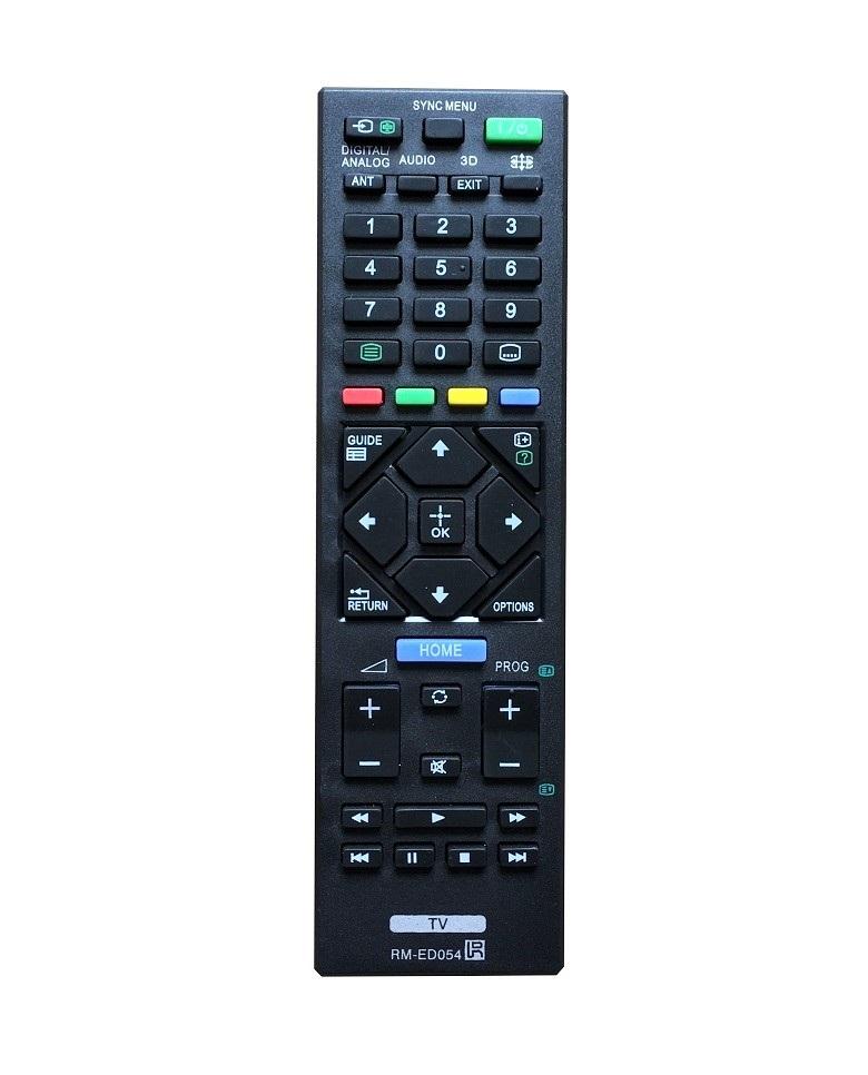 Remote Điều Khiển Dành Cho TV LED, TV 3D, Internet TV SONY RM-ED054 Grade A+ (Kèm Pin AAA Maxell)