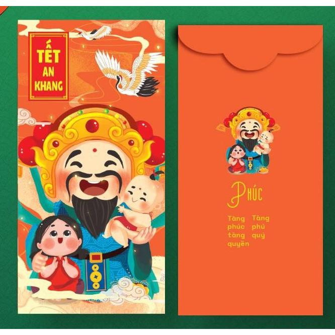Bao Lì Xì - Tết An Khang - Phúc (Bộ 10 Cái)