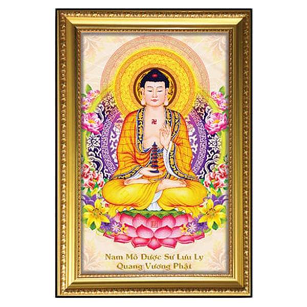 Tranh Phật Dược Sư W617