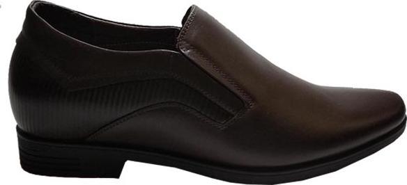 Giày Tây Tăng Chiều Cao Nam BIGGBEN Da Bò Thật GT69