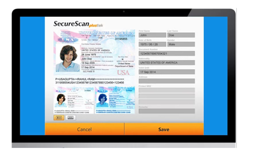 Máy Scan Hộ Chiếu chuyên dụng Plustek Securescan X100 - Hàng Chính Hãng